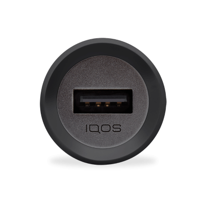 IQOS 3 Car Charger, Black, large