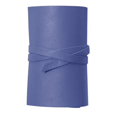 IQOS 2.4 Plus Leather Roll Periwinkle, Periwinkle, large