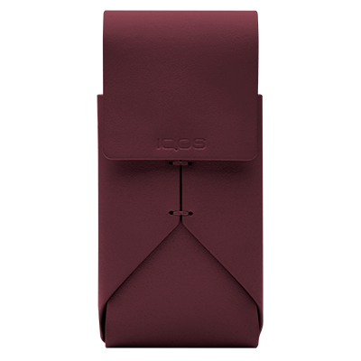IQOS 2.4 Plus Leather Pouch Burgundy, Burgundy, large