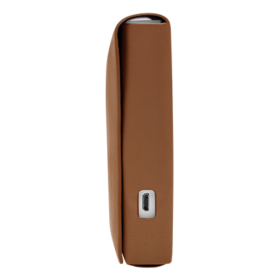 IQOS 2.4 Plus Leather Folio Small Brown, Brown, large