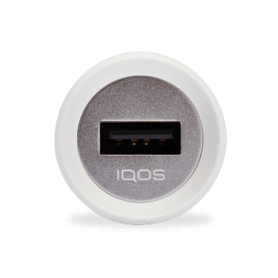 IQOS 3 Car Charger White, White, large