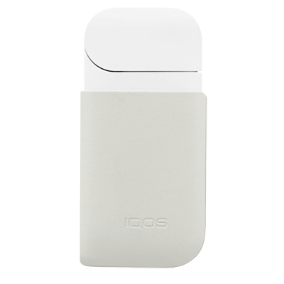 IQOS 2.4 Plus Leather Clip Cream, Cream, large