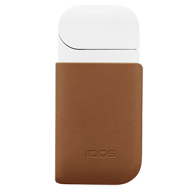 IQOS 2.4 Plus Leather Clip Brown, Brown, large