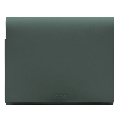 IQOS 2.4 Plus Leather Folio Medium Green, Green, large