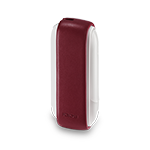 IQOS 3 Duo / 3 Leather Sleeve Deep Red, Deep Red, medium