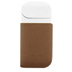 IQOS 2.4 Plus Leather Clip, Brown, medium