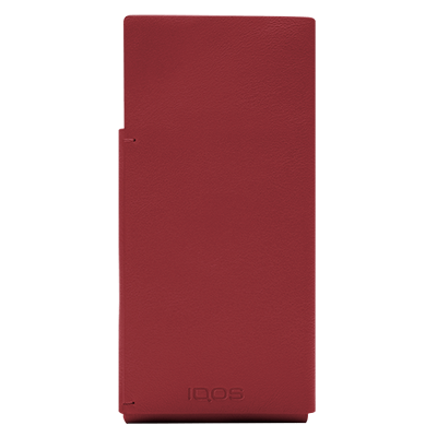 IQOS 2.4 Plus Leather Sleeve Red, Red, large