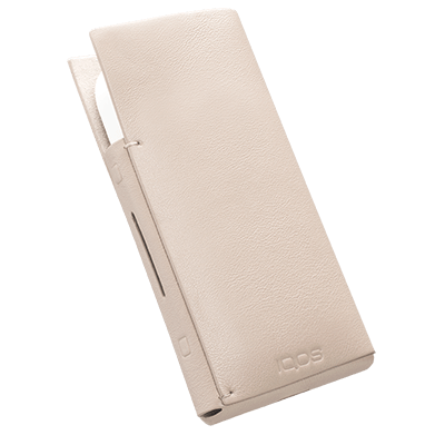 IQOS 2.4 Plus Leather Sleeve Natural, Natural, large