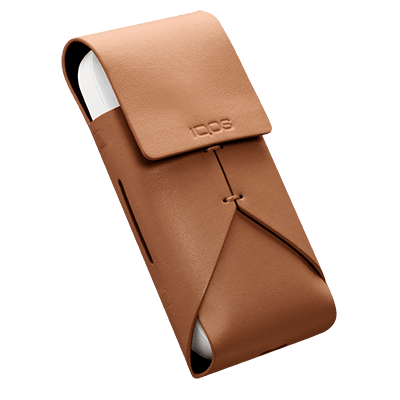 IQOS 2.4 Plus Leather Pouch Brown, Brown, large