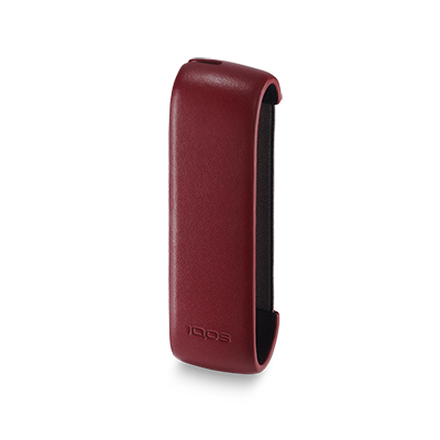 IQOS 3 Duo / 3 Leather Sleeve Deep Red, Deep Red, large