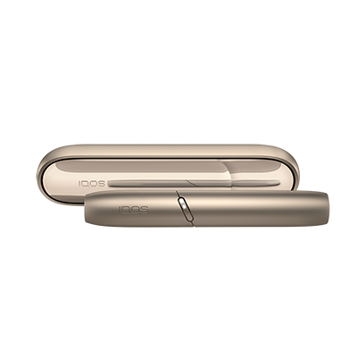 IQOS 3 DUO Brilliant Gold, Gold, large