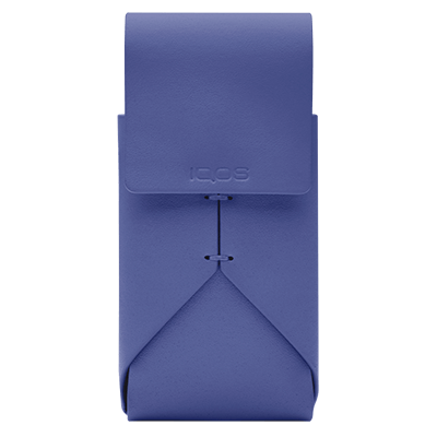 IQOS 2.4 Plus Leather Pouch Periwinkle, Periwinkle, large
