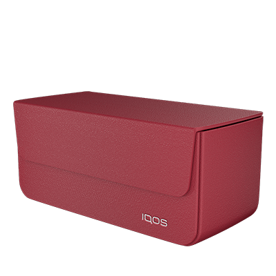 IQOS 2.4 Plus Carry Case Red, Red, large