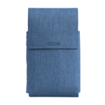 IQOS 2.4 Plus Duo Folio Fabric Light Blue, Navy, medium