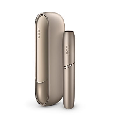 IQOS 3 Kit Brilliant Gold, Brilliant Gold, large