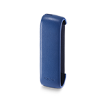 IQOS 3 DUO / 3  Leather Sleeve Royal Blue, Royal Blue, medium