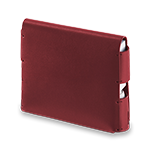IQOS 3 Leather Folio Deep Red, Deep Red, medium