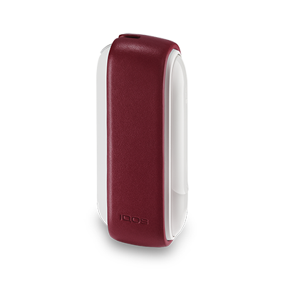 IQOS 3 Leather Sleeve Deep Red, Deep Red, large