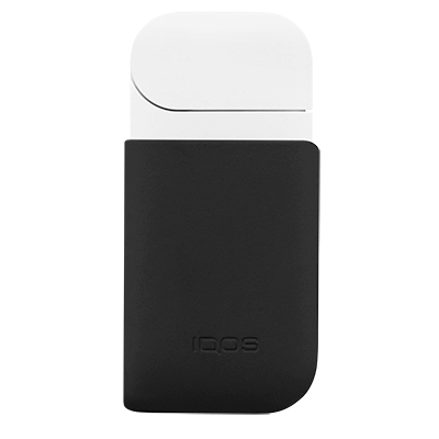 IQOS 2.4 Plus Leather Clip Slate, Slate, large