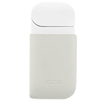 IQOS 2.4 Plus Leather Clip Cream, Cream, medium