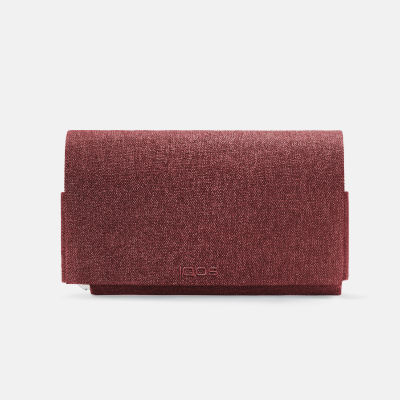 IQOS 3 DUO / 3 Fabric Folio Small Red, Red, large